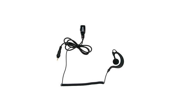 PIN29-CLP NAUZER Micro Auricular orejera, cable rizado negro alta gama para MOTOROLA CLP Series