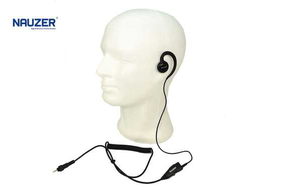 PIN-4602A NAUZER Micro-earphone earmuff for CLP446 MOTOROLA