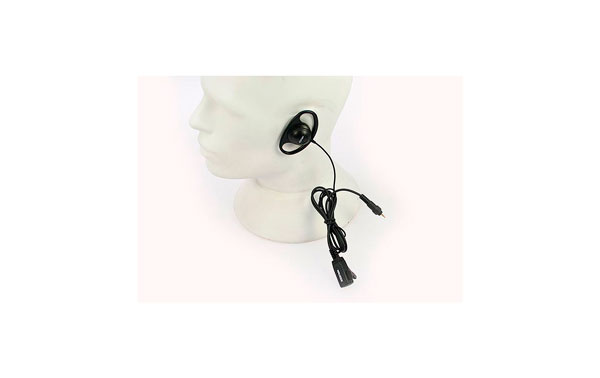 PIN77CLP NAUZER closed micro-headset earmuff, straight cable, for Motorola CLP Series