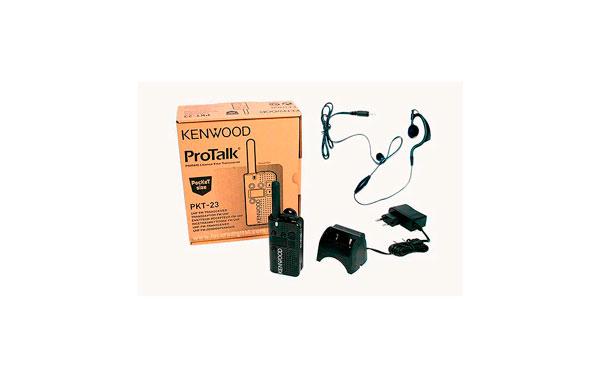 Walkie KENWOOD PMR-446 PKT23 Uso Livre