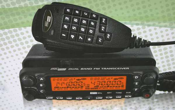 POLMAR DB-54 Emisora doble banda BI-BANDA VHF/UHF 144/430 Mhz