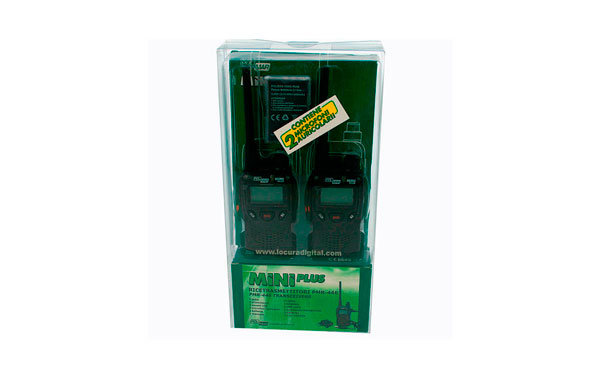MINIPLUS2 POLMAR MINI walkie PMR-446 blister de 2 unidades
