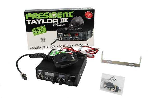 PRESIDENT TAYLOR III ASC Transmitter 40 AM / FM Multi-European Standards