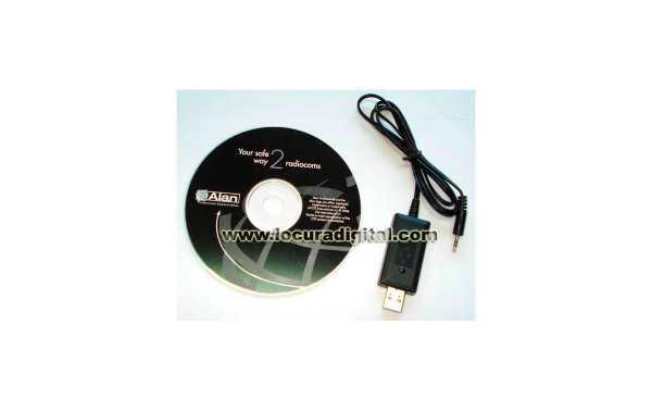 PRG-G15 Cable + Software de programación para MIDLAND G-15 Y G-18