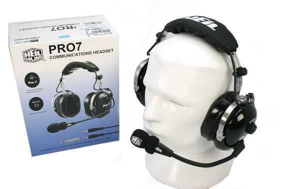 PROSET 7 IC HEIL Casco microfono-altavoces para emisoras ICOM
