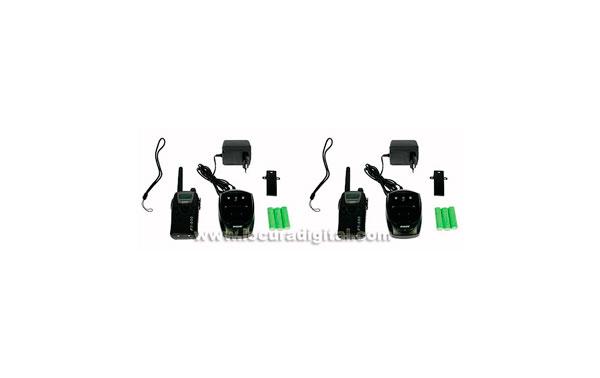 PT600 KIT1 MAAS PMR-446 walkie de uso libre  KIT DE 2 WALKIES