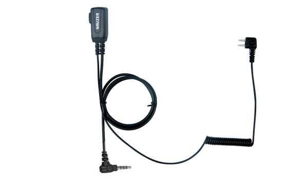 NAUZER PTT-32Y YAESU Micro / PTT compatible casco PELTOR SPORTTAC
