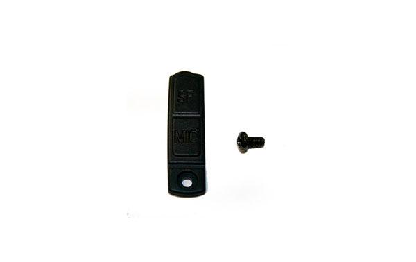 RECTL77-MICRO  RECABIO ORIGINAL GOMA TAPA DE CONECTOR DEL AURICULAR Y MICRO TL-77 PMR-446