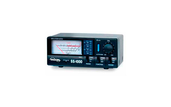 HOXIN SS-1000 Meter SWR / Wattmeter Frequency from 1,8-160 / 430 -450 / 800-930 / 1240-1300 Mh