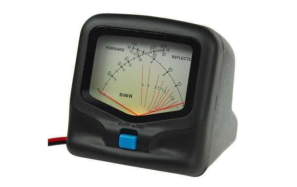 RX-20. Medidor R.O.E. / Watimetro hasta 300 w.VHF/UHF 1,8-200 MHZ. Medidor de potencia y R.O.E. VHF/UHF de doble aguja. RX-20