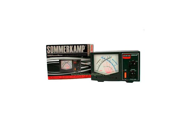 SK-M5130N SOMMERKAMP medidor SWR y potencia  2/020/0200 wat. Conectores N