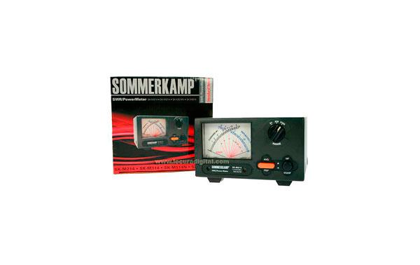 SKM614 SOMMERKAMP Medidor ROE+WATIMETRO 1,8-200/125-525 Mhz. 200 wats