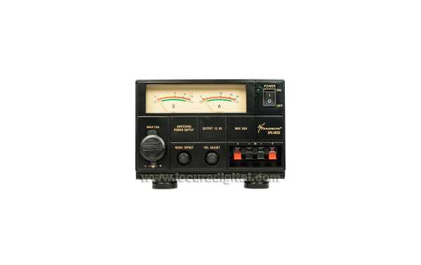 SADELTA SPS-5055 Switching Power Fonte 220V / 13.8V. 50-55 amperes.