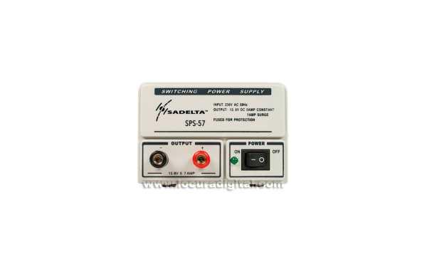 SADELTA SPS-57 Switching Power Source 220V / 13.8V. 5-7 amps.