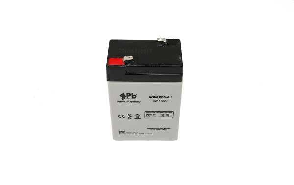 SW645 AGM Bateria Plomo voltaje 6 Votios capacidad 4,5Ah terminal T1