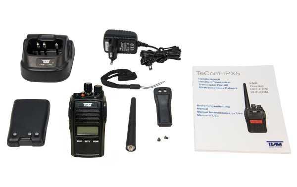 TECOM PR-8090 Déambulateur de chasse UHF SANS CLAVIER IP67