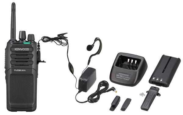 TK3701D KENWOOD Analog-Digital Walkie PMR446 Free use