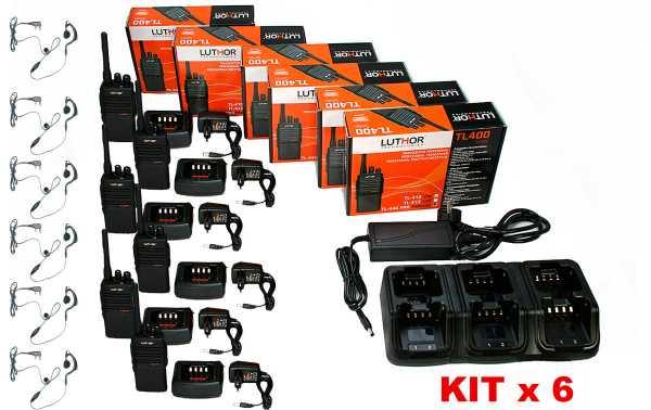 LUTHOR TL446-PROMTX6 Walkie compatible Motorola XTNI, XT-220 y XT-420