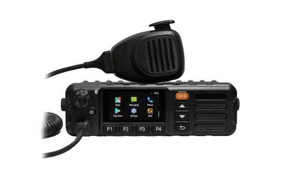 INRICO TM-7PLUS Emisora uso libre red movil 4G LTE Android/WiFi-ZELLO