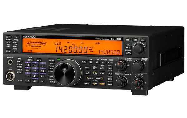 The new TS-590SG retains many of the main features of its predecessor TS-590S.