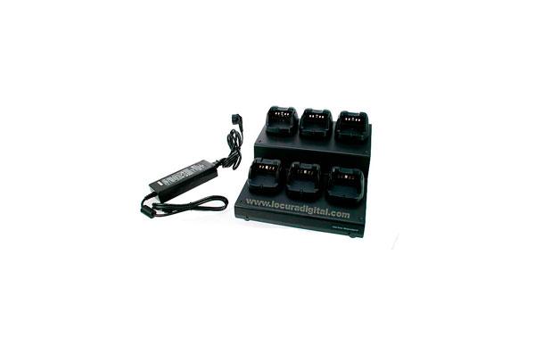 VAC6450 VERTEX cargador multiple de 6 unidades
