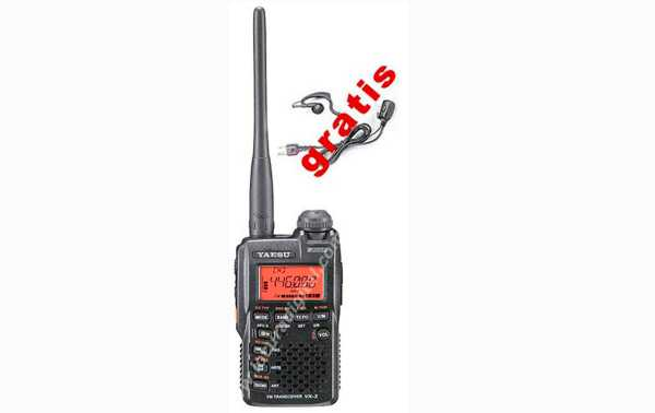 ref: VX 3 Walkie dupla VHF / UHF YAESU VX-band 3 R