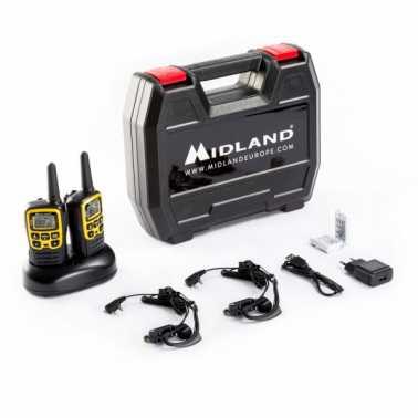 MIDLAND XT-50-gamme milieu de gamme deux AVENTURE PMR446 talkie-walkie 8 km