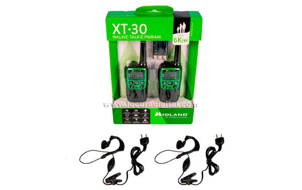 MIDLAND XT-30 couple free use walkies PMR 446