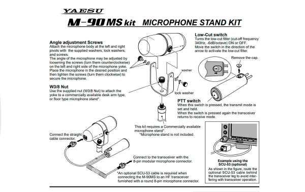 M-90-MS KIT El  Cabezal de micrófono color negro sin soporte